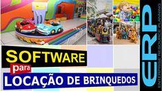 Software locação de brinquedos por fração hora minutos