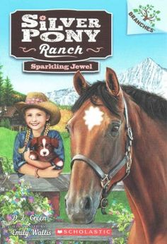 Silver Pony Ranch is full of ponies, puppies, and adventure!  This series is part of Scholastic's early chapter book line called Branches, which is aimed at newly independent readers. With easy-to-read text, high-interest content, fast-paced plots, and illustrations on every page, these books will boost reading confidence and stamina. Branches books help readers grow!