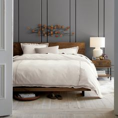 Shop Atwood California King Bed Without Bookcase Footboard. The Atwood  Queen Bed Is A Crate And Barrel Exclusive.