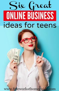 There are many legitimate online business ideas that teens can do after school, in their spare time, and on the weekends. Here are 6 great online business ideas for teens to make money online.