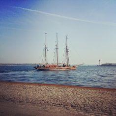 Kiel - sailing city - sailing ship