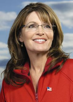 Sarah Palin...She is such a strong woman and doesnt back down on what she believes.