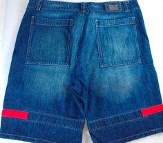 "Marithe Francois Girbaud Jean Shorts Mens SZ 42 Baggy Loose 44"" Actual Waist http://www.ebay.com/itm/-/291483989396?roken=cUgayN&soutkn=RfMJyZ #clothes #mensclothes #mensfashion"