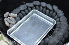 Mit dem Minion-Ring hält man einen Kugelgrill für 12-18 Stunden auf niedriger Temperatur. Die Minion-Methode ermöglicht Pulled Pork, Ribs, Brisket und Co.