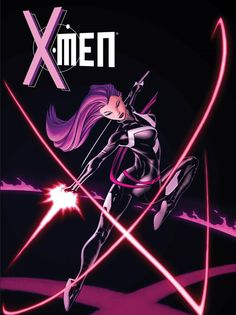 Psylocke by Ed McGuinness * Auction your comics on http://www.comicbazaar.co.uk