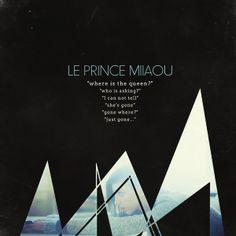 """<3 <3 Le Prince Miiaou """" Where is the queen""""  // Chouchoute est de retour et a sacrément évolué : toujours aussi rock et pourtant...// Ecoute spotify http://open.spotify.com/album/5tNBAeYLY5UZvA6qsnIp1t"""