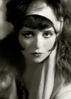 Clara Bow. The original Betty Boop