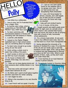 Author of Middle Grade THE NEPTUNE PROJECT Polly Holyoke (Summer 2013) #25things #author #writer