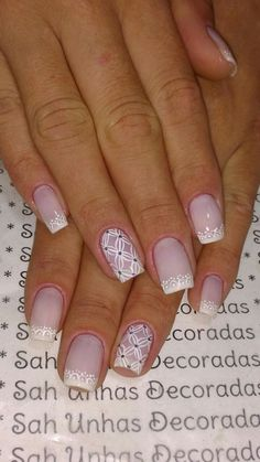 Spring Nail Art, Spring Nails, Gorgeous Nails, Pretty Nails, Nail Manicure, Pedicure, How To Do Nails, Fun Nails, French Polish