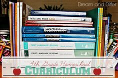 Dream and Differ: 4th Grade Homeschool Curriculum  Check out www.NYHomeschool.com as well.