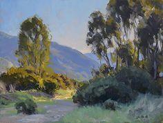 West End Eucalyptus by Jesse Powell Oil ~ 12 x 16