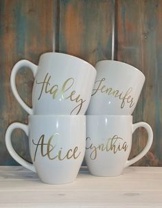 Custom Home Decor Gifts from Etsy : A Great Gift Guide for the Holidays Timeless Creations, LLC Diy Mugs, Personalized Coffee Mugs, Personalized Gifts, Sharpie Mugs, Customised Mugs, Custom Mugs, Customized Gifts, Custom Gifts, Sippy Cups