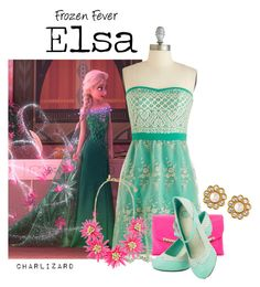 """""""Elsa"""" by charlizard ❤ liked on Polyvore"""
