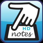 7 Notes is a note-taking app for the iPhone and iPad that has a great set of features for teachers and students of all ages.