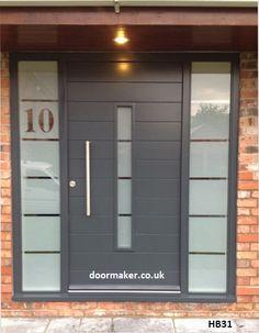 grey entrance door - Google Search