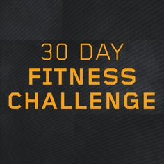 30 Day Fitness Challenges | Can you do them all?