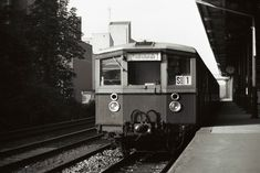Bahn Berlin, S Bahn, Public Transport, Transportation, Train, Black And White, City, Places, Old Pictures
