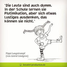 """Gefällt 306 Mal, 24 Kommentare - Kreative Kindergeschichten (@kreativi.kinderwelt) auf Instagram: """"Da hat Pippi Langstrumpf (oder besser Astrid Lindgren) schon damals einen wichtigen Gedanken…"""""""