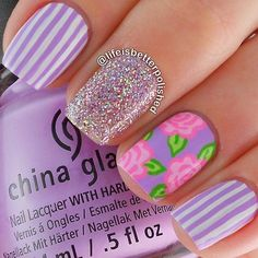 Ladies' nails have always been an important dimension of beauty and fashion. You can also have so many choice for your nail designs. Star nail art, Hello Kitty nail art, zebra nail art, feather nail designs are a few examples among the various themes. Feather Nail Designs, Feather Nails, Flower Nail Designs, Simple Nail Art Designs, Flower Nail Art, Nail Designs Spring, Striped Nail Designs, Floral Designs, Zebra Nail Art