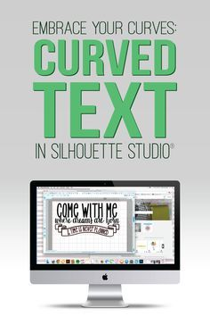 Typing text in Silhouette Studio on a straight line is as easy as clicking the text tool and typing. After a while, you want to get a little fancy. If you're like me, you will into a problem I call, the text dance. You try to move the text from a straight line to a curve and it jumps around like a toddler in a bounce house. Never fear. I've formed a committee to eliminate the text dance. First, we will practice placing a word inside a circle.