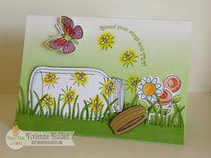 CUTE jar card - Peachy Keen Stamps
