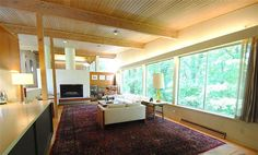 1950s Jim Alexander-designed midcentury modern property in Cincinnati Ohio, USA.  Pinned by Secret Design Studio, Melbourne. www.secretdesignstudio.com