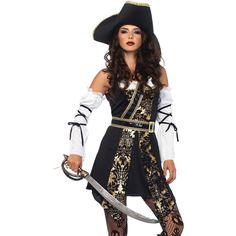 Buccaneer Black Sea Large  sc 1 st  Pinterest : awesome costumes for women  - Germanpascual.Com