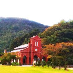 長崎・五島列島。堂崎教会