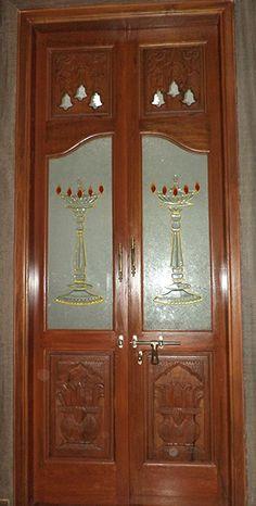 ideas pooja room door design modern glass for 2019 Modern Room, Pooja Rooms, Puja Room, Room Doors, False Ceiling Design, Door Glass Design, Drop Ceiling Lighting, Pooja Room Door Design, Door Design Wood