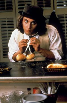 """in Benny & Joon, 1993. Please click photo to save the blogger. I'm doing some major cleaning to my boards. With over 300 boards and been on here since the beginning of Pinterest. I've accumulated a lot of stuff and some are bad links. So please don't follow or like, just go to source till I'm finished. Thank you."""" Quote by Blonde in Pic."""