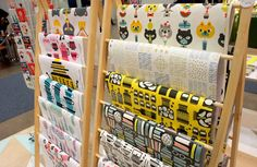 New wrapping papers. Polkka Jam at Habitare 2014.