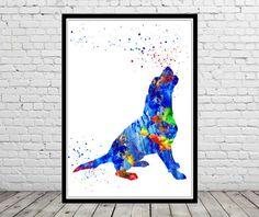 Beagle, Beagle dog, watercolor painting, animal painting,animal art, dog, Kids Room Decor, Poster, wall art, print(1019b)