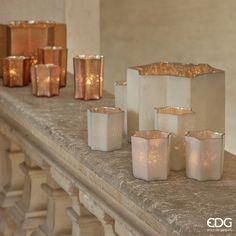 Villa Farsetti - Rose Gold Candle Holder | EDG Enzo De Gasperi