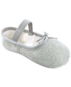 Flo Dancewear Toddler   Little Girls Sparkle Ballet Shoes - Silver. Ballet ShoesKid  ShoesSilver ShoesDance ... cbe5f770e64d