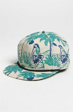 Brixton 'Henshaw Hawaiian' Snapback Trucker Hats, Headspace, Cool Hats, Brixton, Snapback Cap, Beanies, Hats For Men, Crowns, Random Things