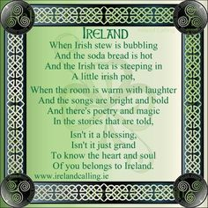 Irish quotes! Ireland a place I really want to go !