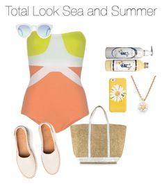 """Look Sea and Summer (L. #3)"" by juliettemeunier ❤ liked on Polyvore featuring Kate Spade and Vanessa Bruno"