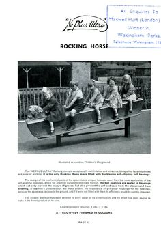 the play-ground rocking horse from my childhood.
