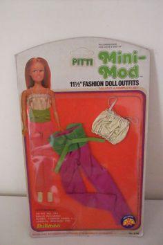 PITTI-MINI-MOD-VESTITO-VINTAGE-vestito-adatto-per-BARBIE-in-BOX-Shillman-Mod-27