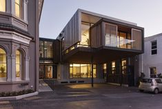 Allendale Annexe / Salmond Reed Architects. Image © Simon Devitt
