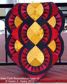 new York Roundabout Again.  Pattern available from Sew Karen-ly Created
