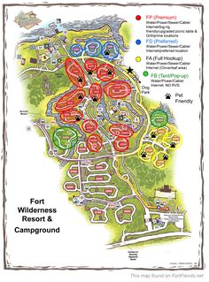 Fort Wilderness - Loop Classification Map - Information - Fort Fiends . - Fort Wilderness – Loop Classification Map – Information – Fort Fiends … - Disney Resorts, Disney Vacations, Disney Trips, Walt Disney, Disney World Fort Wilderness, Fort Wilderness Resort, Camping Spots, Go Camping, Camping Ideas