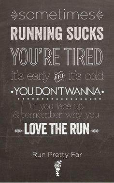 {Monday Motivation} Love the Run
