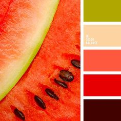 Color Inspiration  алый зеленовато-серый цвет зеленый и красн