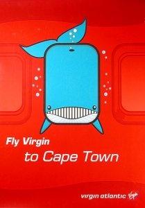 Virgin Atlantic Poster, 2003