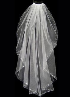 bling wedding veils   Double click on above image to view full picture...we purchased one similar to this and it absolutely made the bride sparkle. It was stunning.