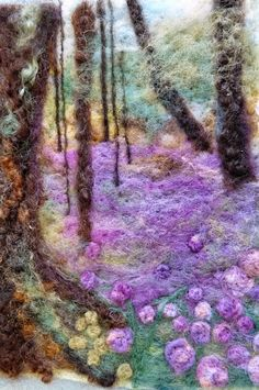Sew Recycled: Needle Felting Landscapes in Petworth