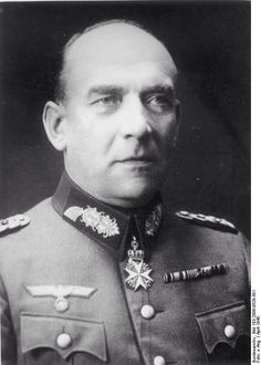 Nikolaus von Falkenhorst was a German General in WW2. He planned and commanded the German invasion of Denmark and Norway in 1940, and was commander of German troops in the Arctic from 1941 to 1944. After the war, he was imprisoned until 1953, although originally sentenced to death, and passed away in 1968.