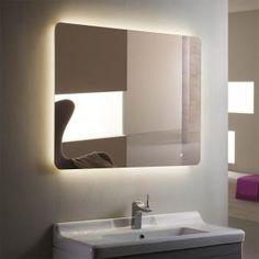 Horizontal Bathroom Mirror Cabinet