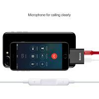 Konektor na slúchadla a nabíjanie BASEUS. Audio jack slúži na prepojenie audio zariadení pomocou 3.5mm jack konektoru s telefónom Ipod, Phone, Mobiles, Apple Watch, Audio, Usb, Electronics, Telephone, Mobile Phones